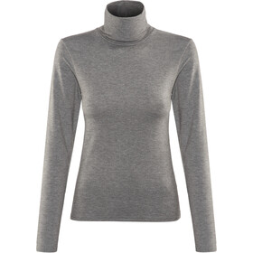 Craft Essential Warm Rollkragen Damen dk grey melange